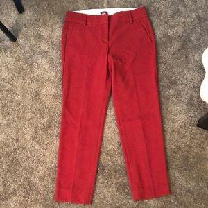 Loft Marisa Burnt Red Pants